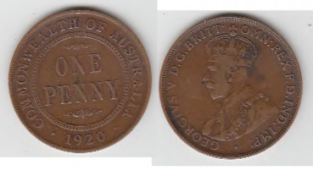 PENNY 1920S.DOT CEREMONIAL.SELL FOR $ 100,000.-