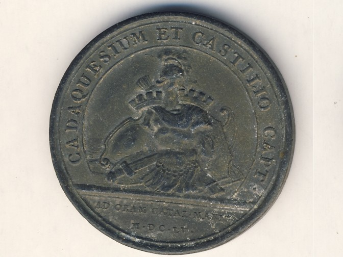 Medal  Ludovicus 1655