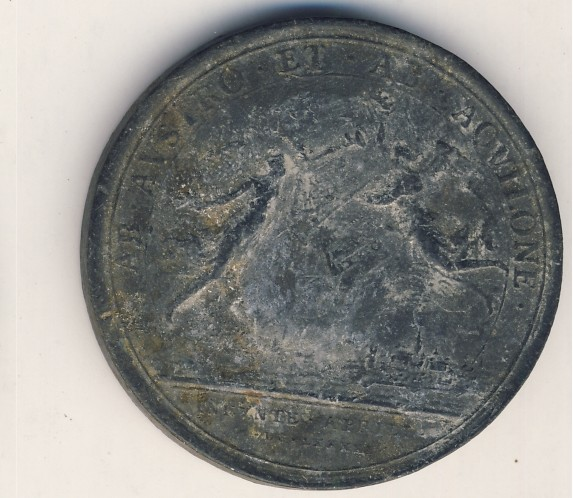 Medal Francis Ludovicus 1691