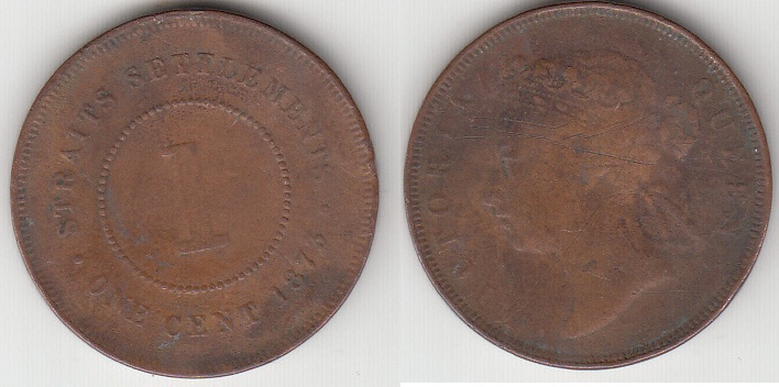COIN SETRAIT SETTLEMENT 1 CENT 1873
