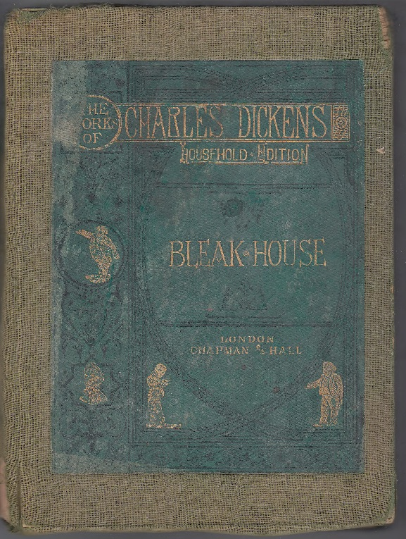 BOOK BLEAK HOUSE BY CHARLES DICKENS 1853