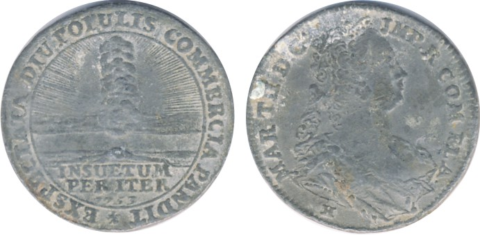 MEDAL M.THERESIA 1753
